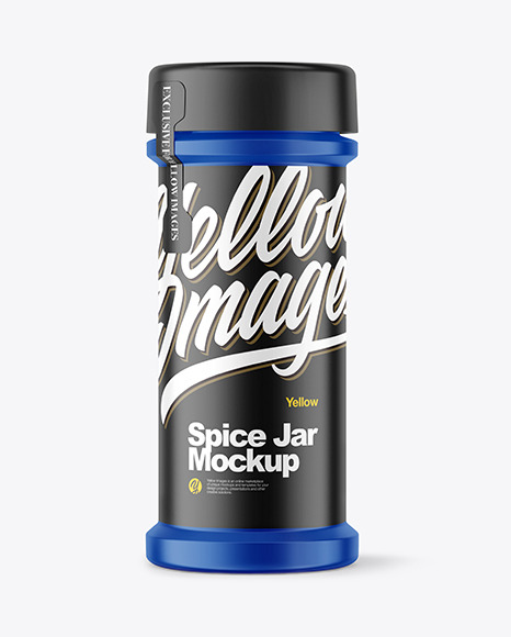 Download Spice Jar Psd Mockup Yellowimages