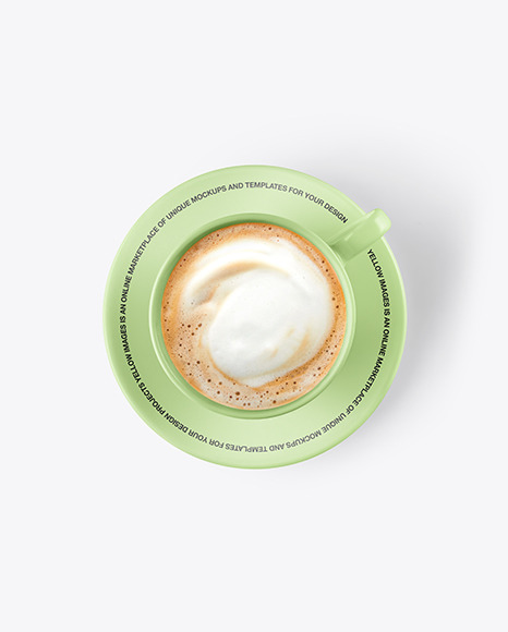 Download Latte Cup Mockup Yellowimages