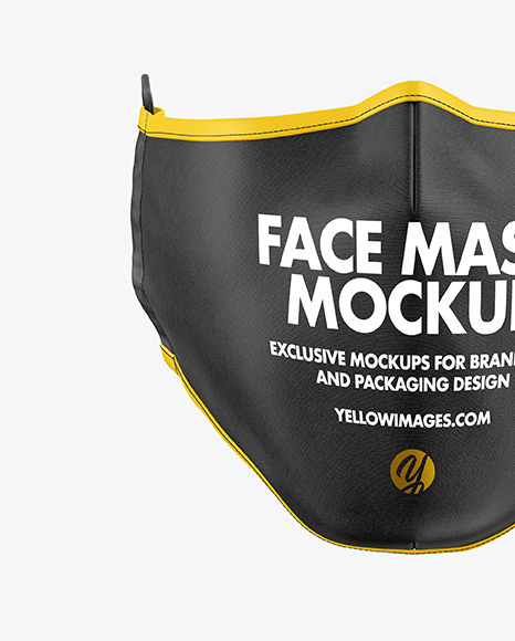 Download Bandana With Head Mockup Yellowimages
