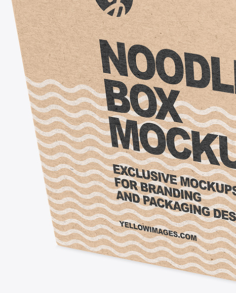 Download Take Away Box Mockup Yellowimages