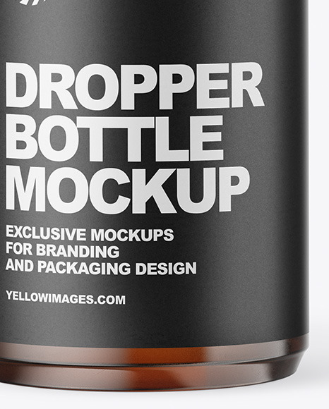 Download Amber Dropper Bottle Mockup Yellowimages
