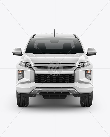 Download Pickup Truck Psd Mockup Yellow Images