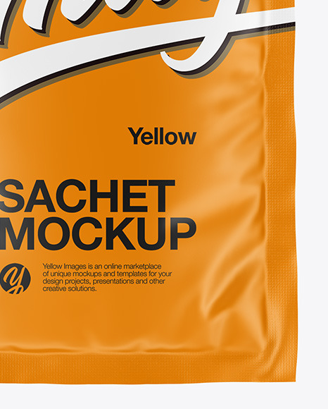 Download Shampoo Sachet Mockup Yellowimages