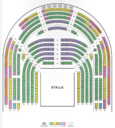 Plan théâtre Royal Shakespeare Company