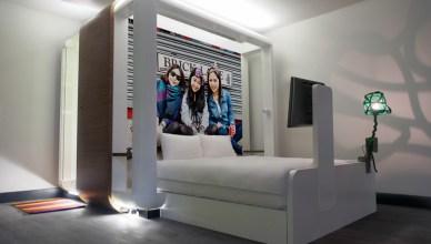 Hoteles del Mundo. Qbic Hotels es una joven cadena de hoteles con tal sólo dos establecimientos, uno en Londres y otro en Amsterdam.