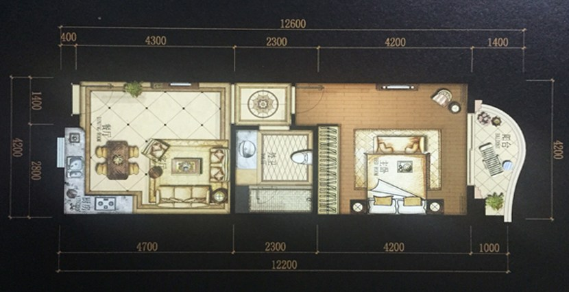 S-AP050008-Sell-Apartment-plan