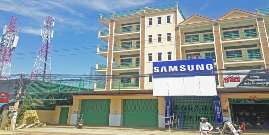 Veng Sreng Road | Shop Front With Row House For Rent