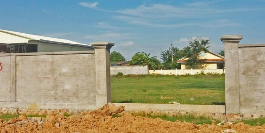 Near Wat Sovanni Monivong| Land For Rent