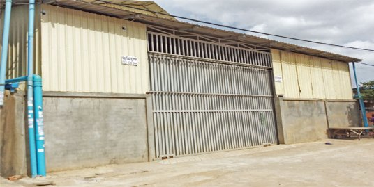 Near Grand Phnom Penh| Warehouse For Rent