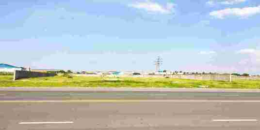 S-LD080338-St.Hun Sen Blvd Chak Angrea | Land For Sale