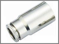 9.52 mm. Hortum için Hızlı Bağlantı Hat Sonu Kapalı veya 10/24 Nozul Delikli