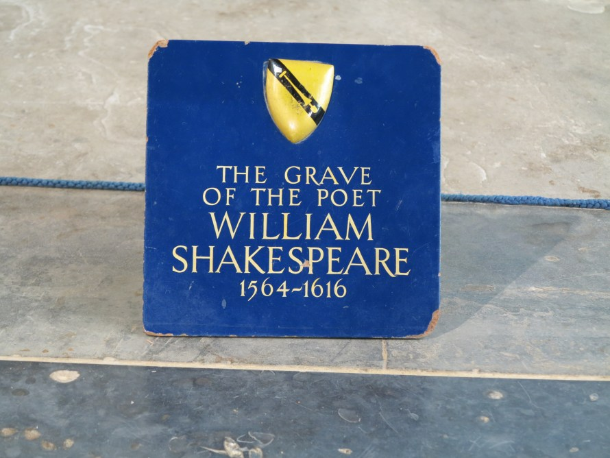 Shakespeare's Grave in Holy Trinity Church
