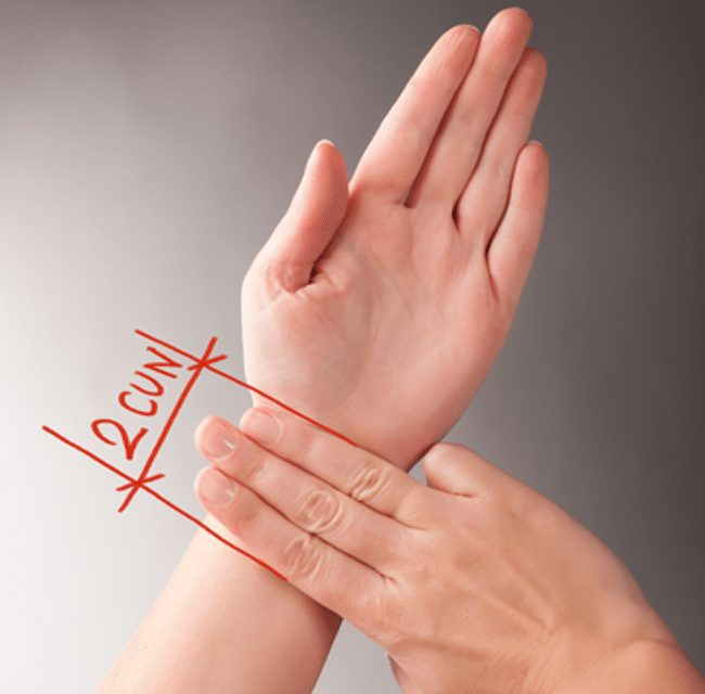 PC 6, Pericardium 6 - What's that acupuncture point for?