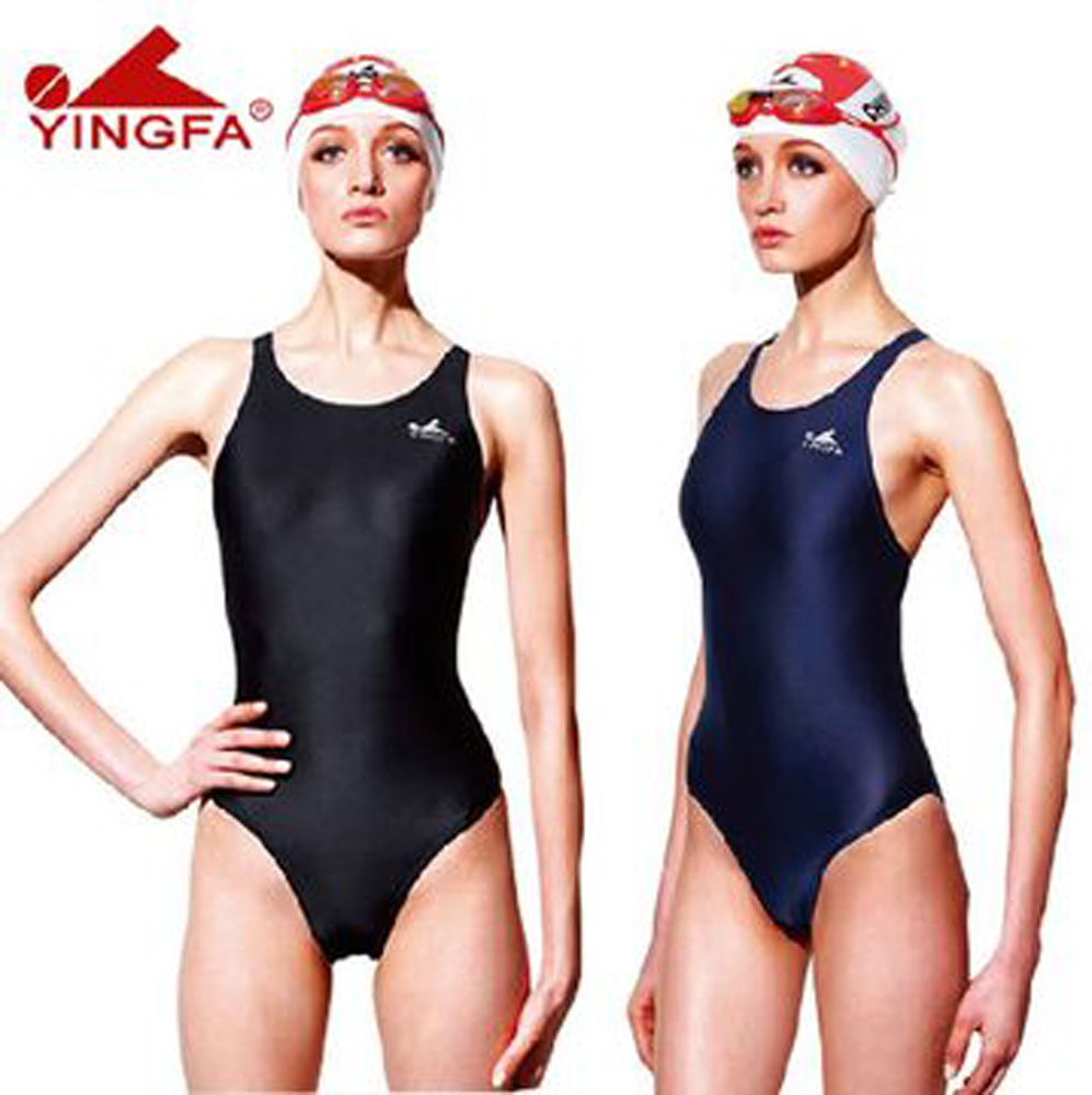 159c2d8fe8567 Yingfa 938 one piece racing   training swimsuit for women and girls ...