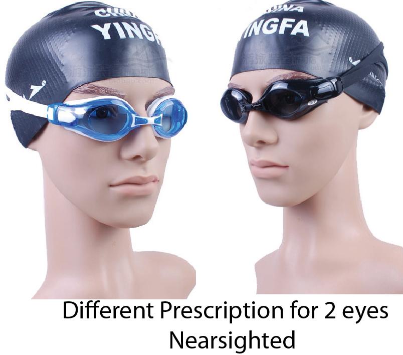 6f24f55de4b9 Yingfa customized prescription swimming goggles for nearsighted ...