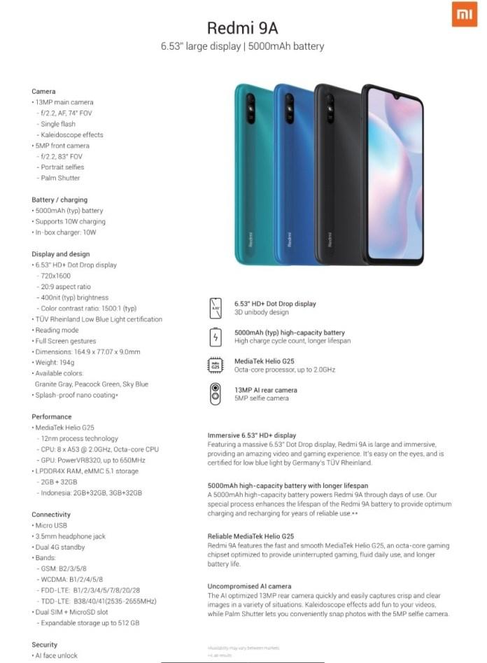 Xiaomi launches Redmi 9, Redmi 9A and Redmi 9C in Nigeria