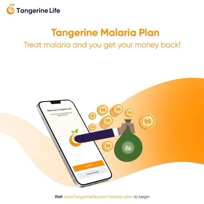 Tangerine malaria and cash+ plan