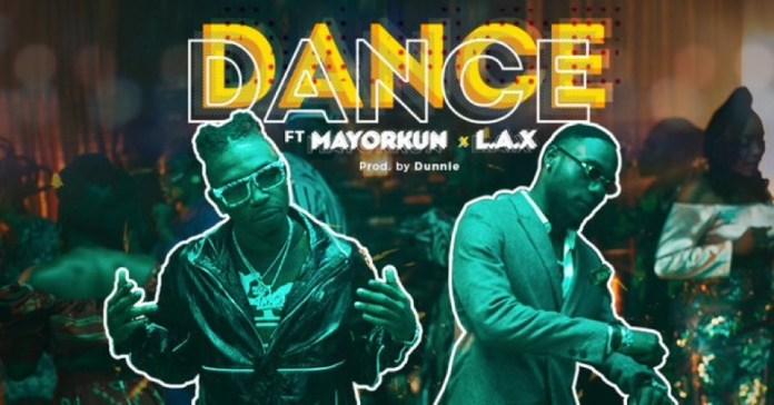 Mayorkun and L.A.X