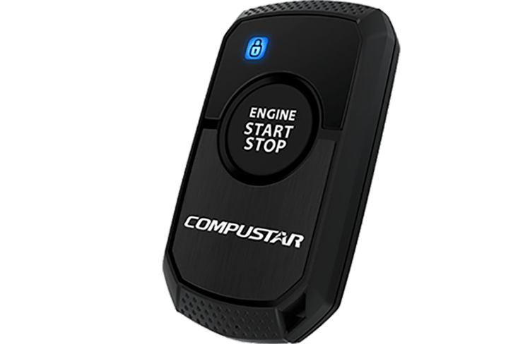 one way remote car starter with one button