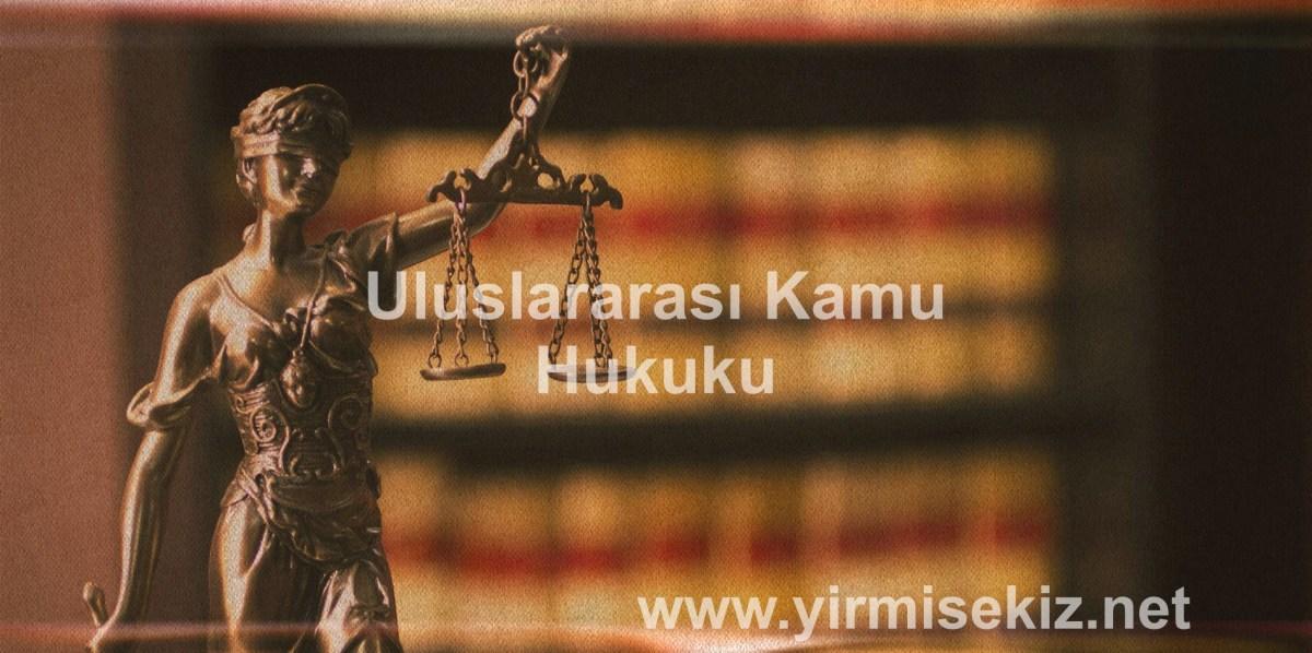 Deniz Hukuku / Uluslararası Kamu Hukuku Ders Notu