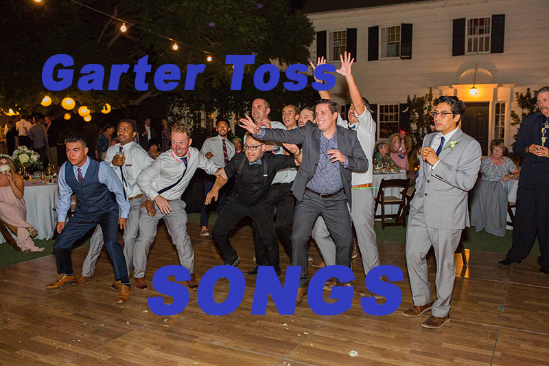 Wedding Garter Toss Songs By Y-it Entertainment