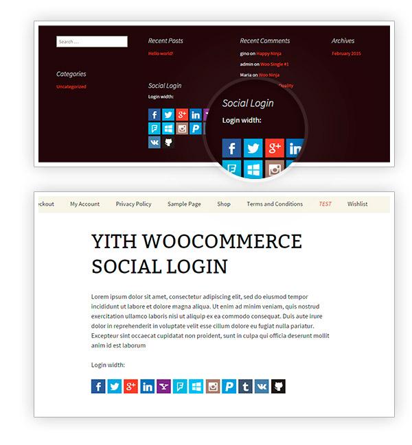 Widget and Shortcode