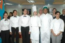 Mis compañeros de clases de Gestión de la Hospitalidad