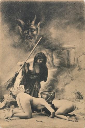 Witches' Sabbat in Paris, ca. 1910 Secuencia 6. Fuente: sexywitch.wordpress.com