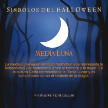 Simbolos del Halloween Media Luna
