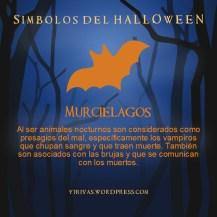 Simbolos del Halloween Murcielagos