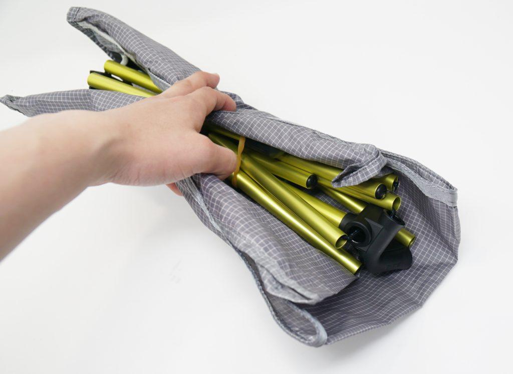 収納方法 持ち運びやすい 簡単に組み立てられる アウトドアチェア