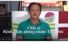 Anh Nguyễn Thành Phong chia sẻ về kết quả điều trị viêm gan B