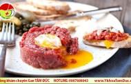 Ăn thịt bò sống, thịt bò tái có an toàn không ?
