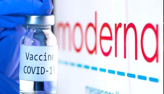 Cong ty duoc Moderna cong bo thoi gian mien dich sau tiem vaccine COVID-19