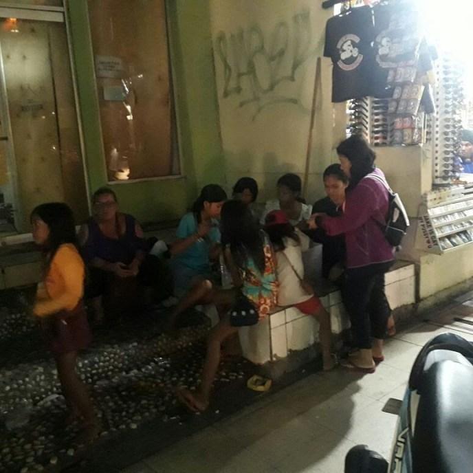 Feeding street kids