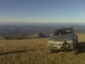 На заднем плане Басман-гора