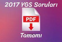 2017 ygs pdf indir