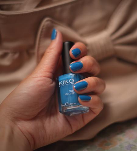 ~ Vernis bleu Kiko ~