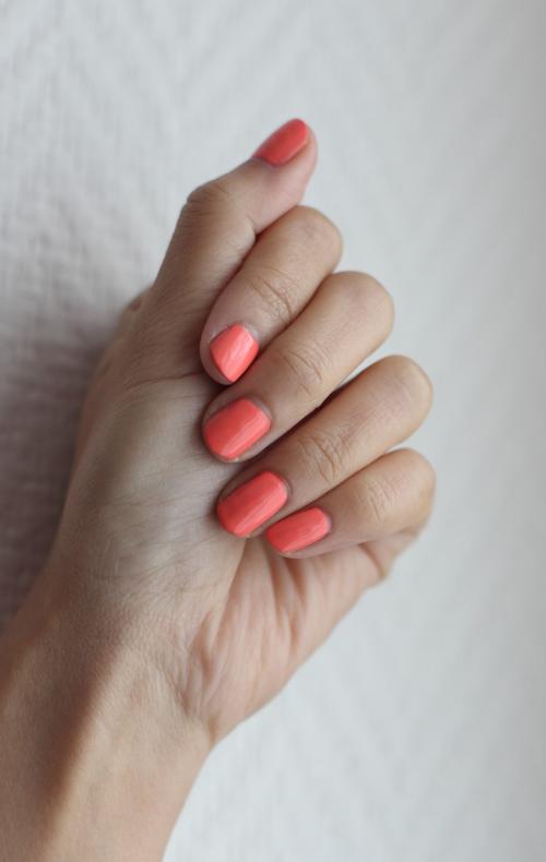 ~ Vernis Essie Tart Deco, un joli corail pour le printemps (si si, c'est bientôt !) ~