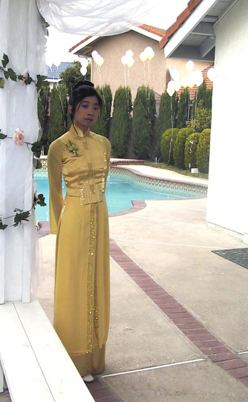 ~ Tenue traditionnelle vietnamienne «Áo dài» ~