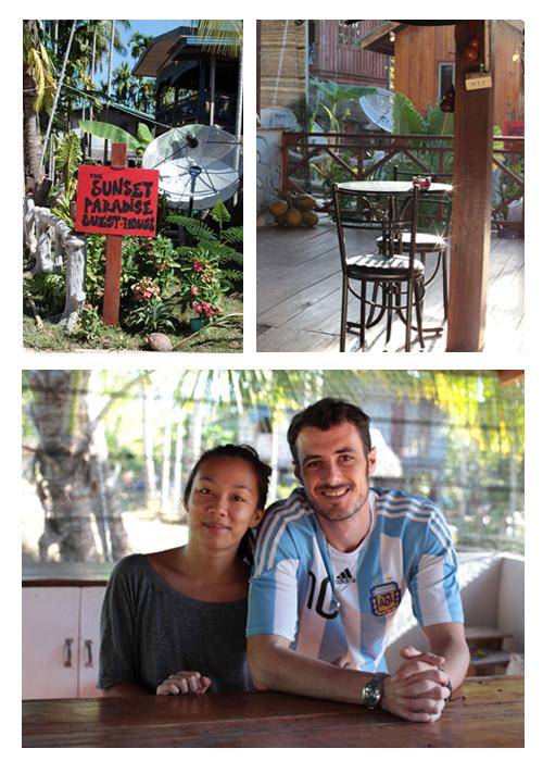 ~ Laos, une bonne adresse dans la région des 4000 Iles, le Sunset Paradise ~
