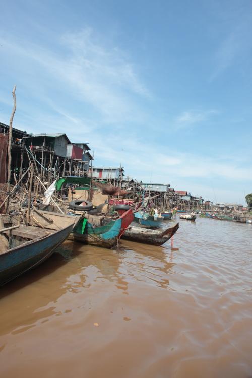 ~ Cambodge, les villages flottants du Tonle Sap ~