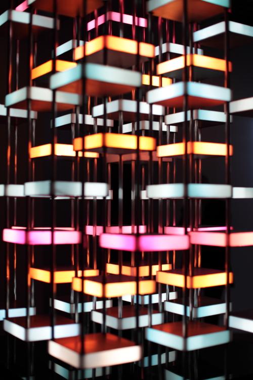 ~ L'expo Dynamo au Grand Palais, magnifique, colorée, lumineuse, à voir ! ~