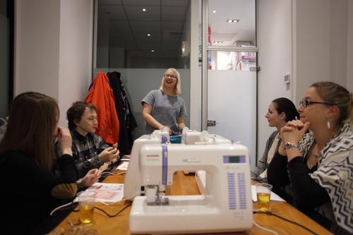 ~ Passion couture avec les ateliers Couture Débutant ~