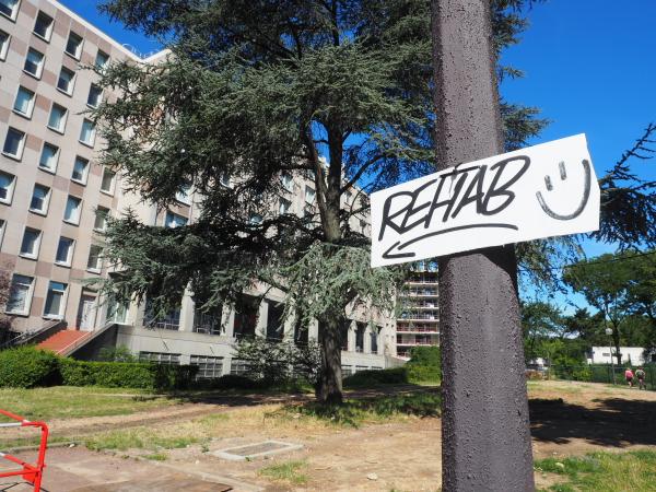 ~ Street Art à la Cité Universitaire, l'expo Rehab ~