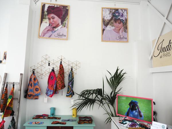 ~ Les super turbans chez Indira de Paris, gros gros coup de coeur !!! ~