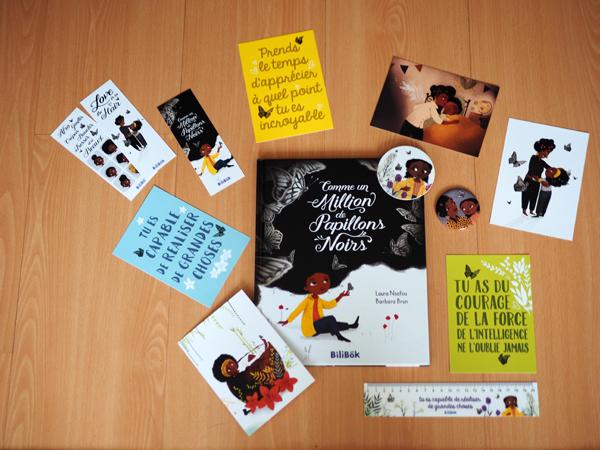 ~ Comme un million de papillons noirs, mon coup de cœur livre pour enfants chez Bilibok ~