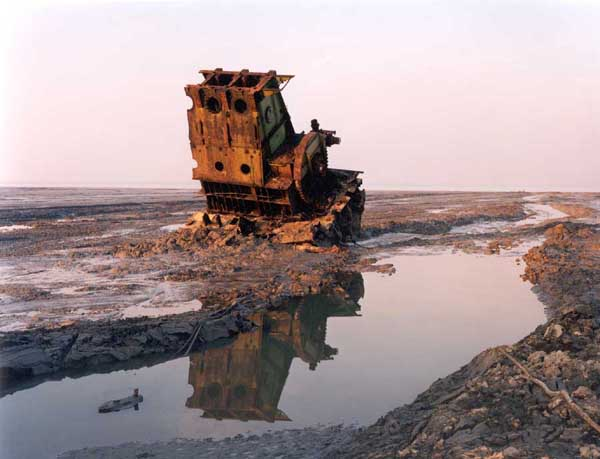 Alang shipbreaking yard in Gujarat, India