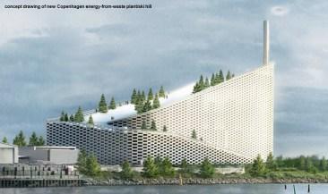 Amager Bakke energy from waste Copenhagen