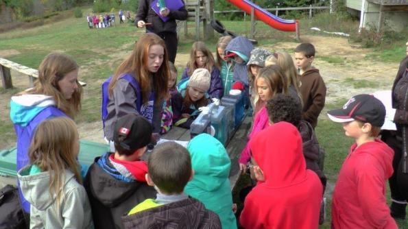 YLS teaches at Haliburton Water festival